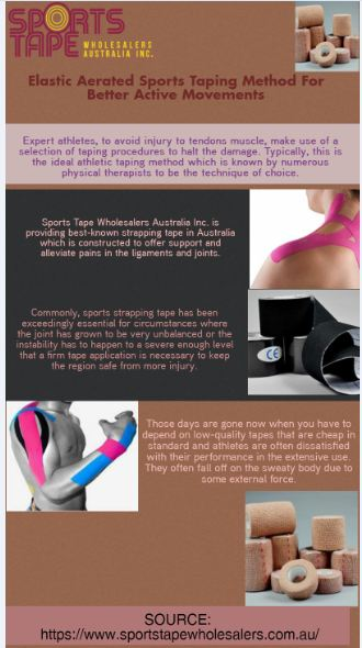 The area that might fascinate athletes is that sports strapping tape can be used prior to a spor ...