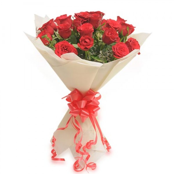 15 Red Roses Bunch – Roses – Flowers By Types – Flowers