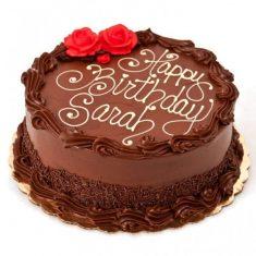 Beautiful Chocolate Birthday Cake – Chocolate – By Flavour – Cakes