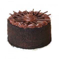 Designer Dark Chocolate Cake – Chocolate – By Flavour – Cakes