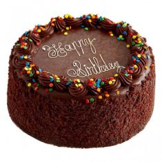 Tempting Chocolate Birthday Cake – Chocolate – By Flavour – Cakes