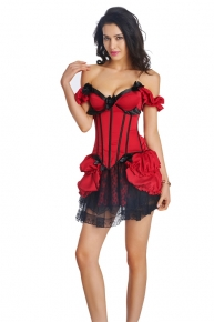 corset skirts sets