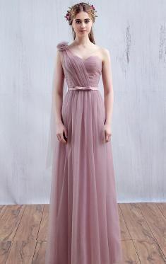 Pink Bridesmaid Dresses UK, Cheap Dresses UK-QueenieBridesmaid