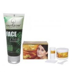 OxyGlow Neem-Tulsi Face Wash 100 g & Gold Bleach Cream 240 g Combo Buy online at www.alpinec ...