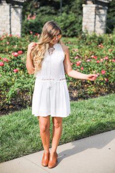 Hvid kjole-hvordan man laver det rigtige valg