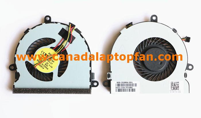 HP 15-G020CA Laptop CPU Fan 753894-001 [HP 15-G020CA Laptop] – CAD$25.99 :