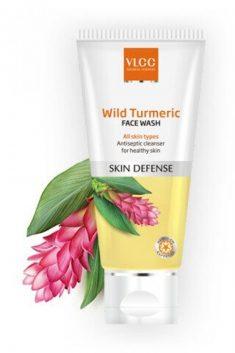 VLCC Skin Defense Wild Turmeric Face Wash, 80gm   VLCC Turmeric Face Wash is described as a natu ...