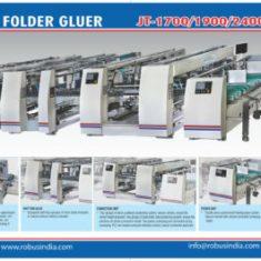 High Speed Fully Automatic Folder Gluer
