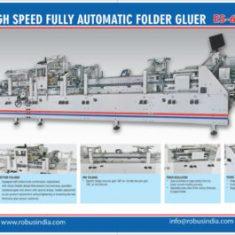 Advanced Automatic Folder Gluer Machine Manufacturer from India