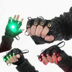 Gants Laser DJ Vert ( http://www.lazerpuissant.com/acessoires/product-112.html )