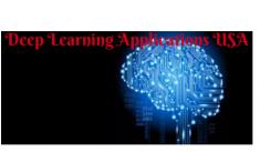 Deep learning applications USA