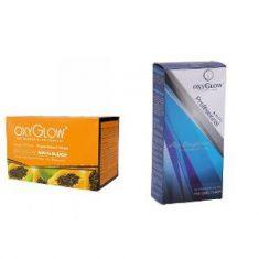 OxyGlow Golden Glow Payaya Bleach & Hair Straightener Combo
