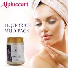 Alpinecart Presents Oxyglow Liquorice Mud Pack, 500g Key ingredients: Liquorice extract, bentoni ...