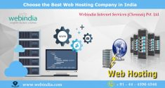 Are you looking for the Best Web Hosting Company in India? Web India grow your online business w ...