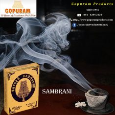 We make the best quality Sambrani with best fragrance to forever create peace in your home.We kn ...