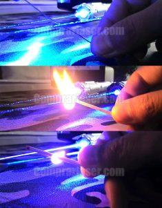Puntero láser 10000mW azul más potente del mundo