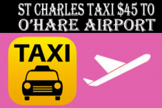Taxi To/From O'Hare from St Charles Taxi | ☎ 630-847-3401 Midway/O'Hare Taxi Fare fo ...