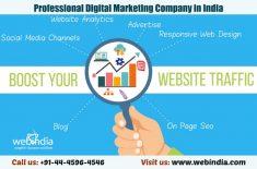 Discover Professional Digital Marketing Company in India? Webindia offers digital marketing serv ...