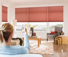 Enjoy the wireless life with the blinds remote control system