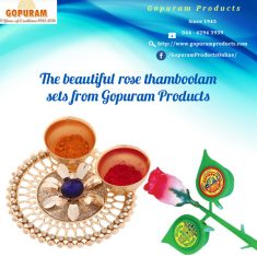 We manufacture different varieties of Thamboolam bags , quality Kumkum, you can order all online ...
