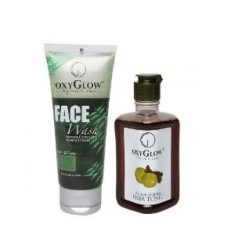 Neem Tulsi face wash and Amla shikakai hair tonic combo you can order online and get upto 30% on ...