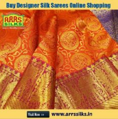 Are you looking to Buy Designer Silk Sarees Online Shopping? Buy a wide range of designer weddin ...