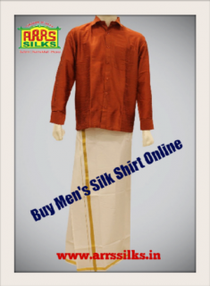 Are you looking to Buy Men's Silk Shirt Online? Find great deals on ARRS Silks for MenR ...
