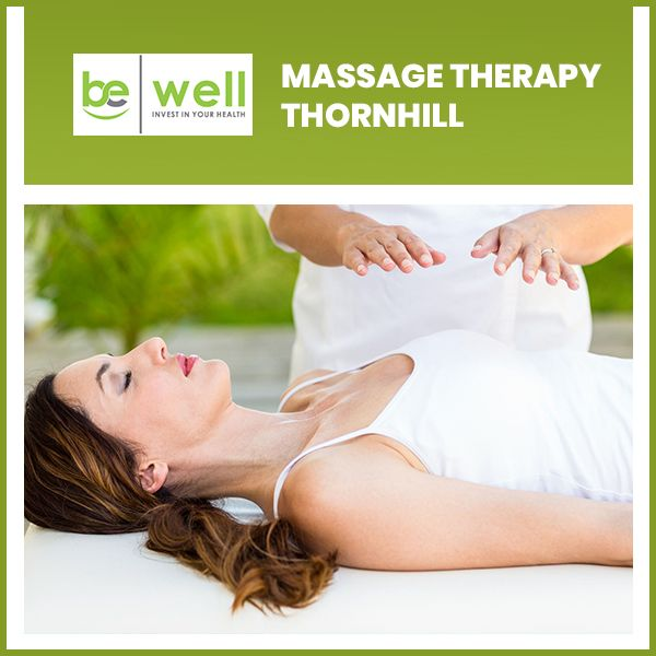 Registered massage therapy Thornhill is offered by a team of registered massage therapists. Thes ...