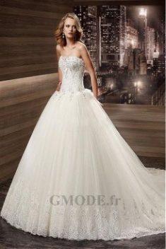 Robes de mariée bustier pas cher, Robe de bustier mariage