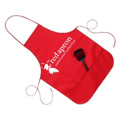 Stop worrying about accidental spills during cooking with promotional aprons. These are good qua ...