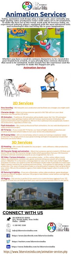 At 3D services India settle for nothing less than high quality multimedia, design and web services.