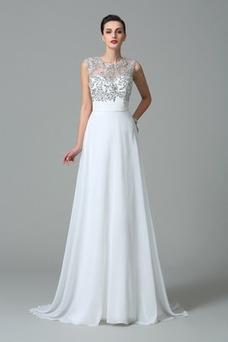 Vestidos de noche blanco baratos, Vestidos blanco de noche online