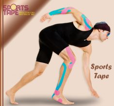 The tapes are widely available from wholesale athletic tape suppliers; the tape gives a huge eff ...