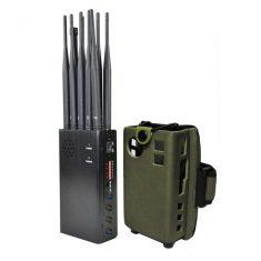 LO1001 est un Brouilleur 5G portable complet avec 7W de puissance totale. Jammer compact, il int ...