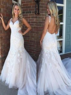 Robes de mariée bohème pas cher – DreamyDress