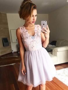 Robes de soirée courtes chic pas cher – DreamyDress