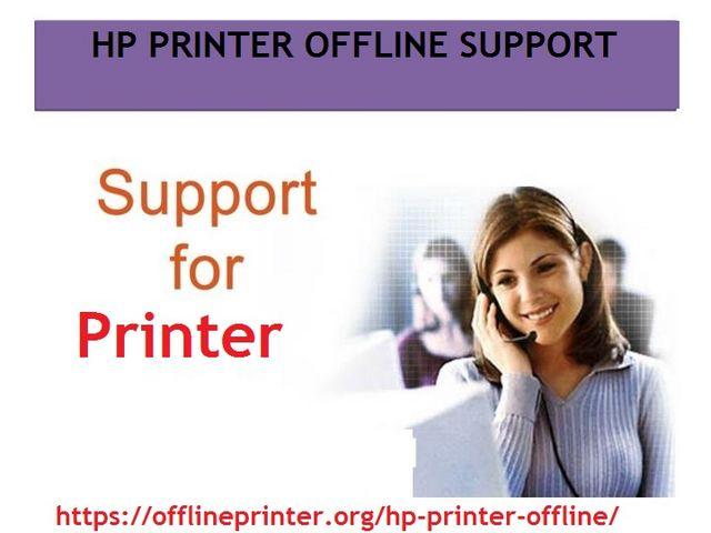 HP Printer is generally get offline when your printer is out of network area. HP Printer offline ...