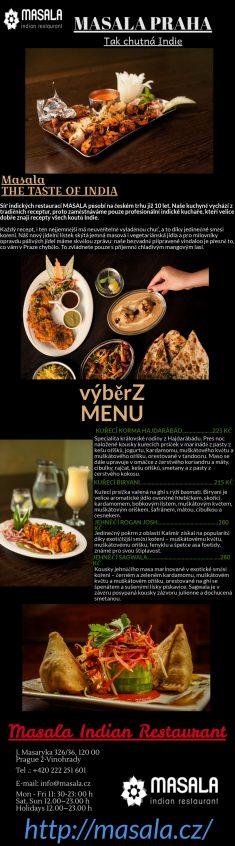 Hledáte nejlepší indickou restauraci v Praze pouze za přijatelnou cenu? Pak jste na správném mís ...