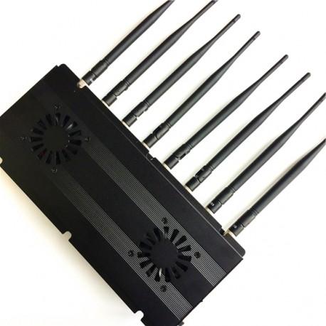 Desktop 8 Antennen 2G 3G 4G WiFi GPS LOJACK Signal Störsender https://www.stoersender24.com/desk ...
