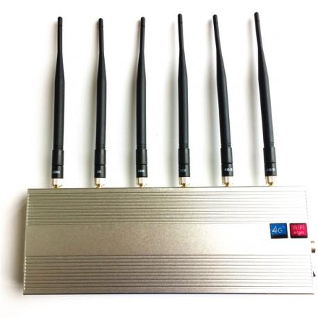 Desktop Störsender mit 6 Antennen, 2G, 3G, 4G WiFi/GPS https://www.stoersender24.com/desktop-sto ...