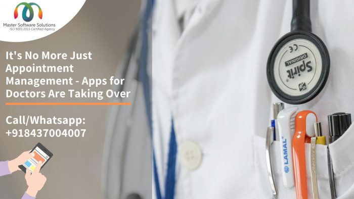 Master Software Solutions has developed the app like Uber for doctors so that they can target th ...