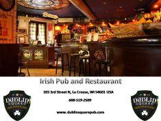 Dublin Square Irish Pub offers delicious Irish dining options, unique drinks, and exciting events.
