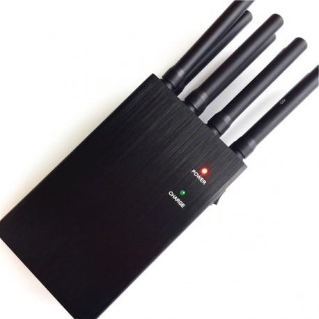 Tragbarer 8 Antennen 2G 3G 4G GPSL1 WiFi Lojack Störsender https://www.stoersender24.com/tragbar ...