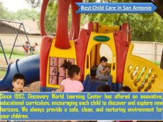 Discovery World Learning Center provides the best child care and Pre-school in San Antonio, with ...