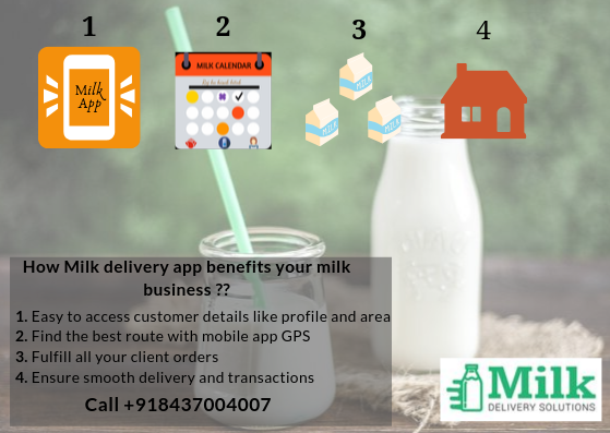 Milk delivery solution is a mobile app for milk delivery designed by using the latest technology ...