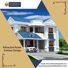 Luxury World Interiors offer the best Exterior Designing Services in the field at the most affor ...