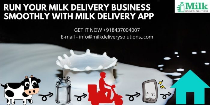 Milk Delivery Solution is the best mobile app development company having a team size of 90+ tech ...