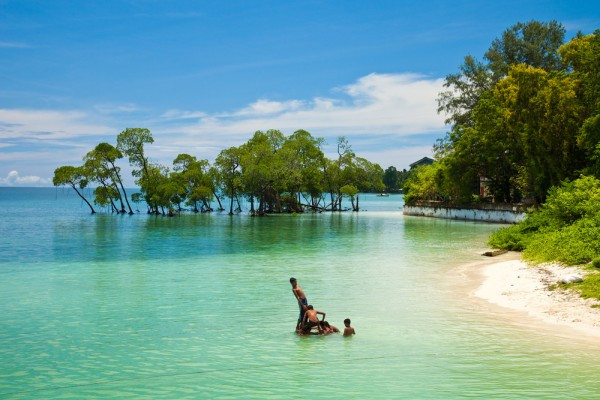 Andaman Island (Onge: Gaubolambe) is the fourth largest of the Andaman Islands of India with an  ...