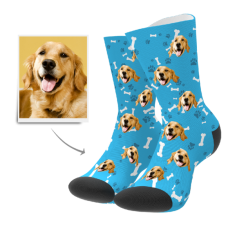 Custom Dog Socks – Dog Socks/Pet Socks/Pup Socks/Face Socks/Photo Socks – MyPhotoSocks