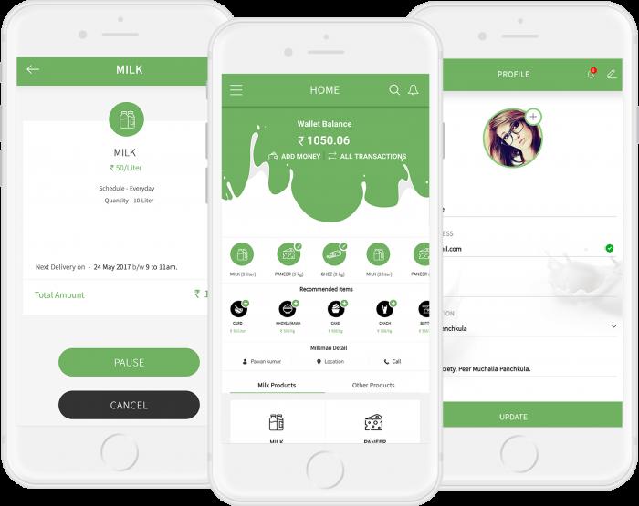 Online Milk Delivery App Development